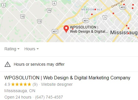 mississauga local seo